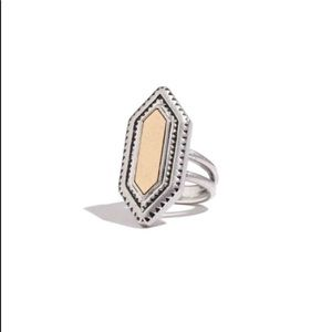 Madewell geometric ring